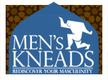 Men's Kneads : Rediscover your masculinity . Logo
